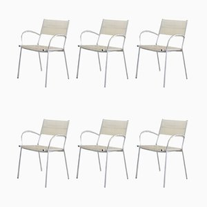 Model Miss B Dining Chairs by Tito Agnoli for Pierantonio Bonacina, 1990s, Set of 6