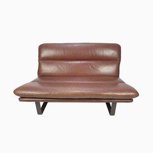 Canapé Vintage en Cuir par Kho Liang Ie pour Artifort, 1960s