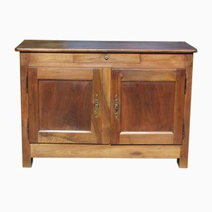 Antique Solid Walnut Buffet, 1900s