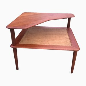 Danish Teak Model Minerva Coffee Table by Peter Hvidt for France & Søn / France & Daverkosen, 1960s