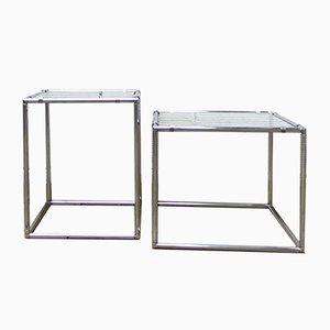 Mesa auxiliar vintage de Poul Cadovius para Abstracta System, años 60