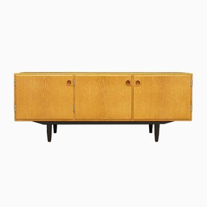 Mid-Century Danish Veneered Ash Sideboard by Svend Langkilde