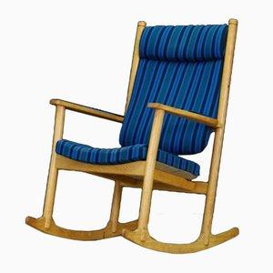 Rocking Chair Vintage en Frêne par Kurt Østervig pour Slagelse Møbelværk, Danemark