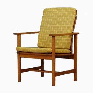 Dänischer Vintage Armlehnstuhl von Børge Mogensen