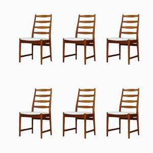 Vintage Teak Dining Chairs from Vamø, Set of 6