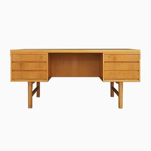 Vintage Modell 76 Schreibtisch aus Eschenholzfurnier von Omann Jun