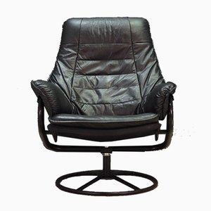 Mid-Century Danish Leather Armchair