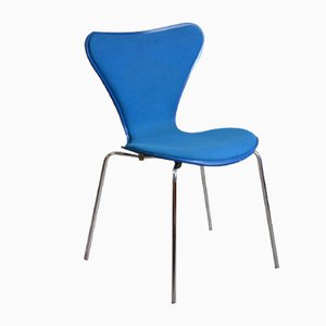 Mid-Century Model 3207 Dining Chair by Arne Jacobsen for Fritz Hansen