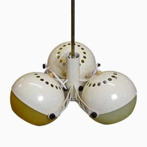Lámpara colgante era espacial de Rigas Apgaismes Tehnikas Rupnica, años 70