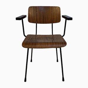 Chaise de Bureau en Bois par André Cordemeyer / Dick Cordemeijer, 1960s