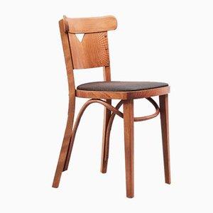 Mid-Century Beech Bistro Chair