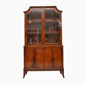 Mahogany Veneered Bookshelf, 1920s