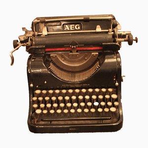 Mid-Century Modell 6 Schreibmaschine von AEG
