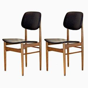 Esszimmerstühle von Ico Luisa Parisi, 1950er, 2er Set