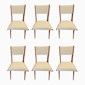 Dining Chairs by Carlo de Carli, 1950s, Set of 6