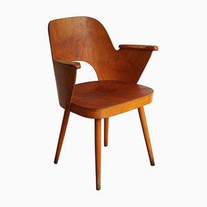 Chaise de Salle à Manger No. 1515 Mid-Century par Oswald Haerdtl pour TON, 1950s