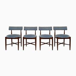 Modell Fresco Esszimmerstühle aus Teak von Ib Kofod Larsen für G-Plan, 1960er, 4er Set