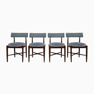 Teak Model Fresco Dining Chairs by Ib Kofod Larsen for G-Plan, 1960s, Set of 4