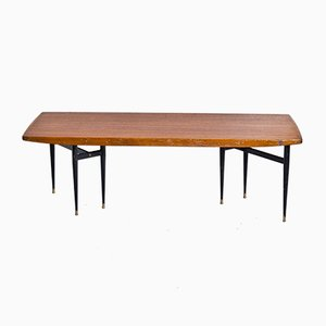 Mid-Century Swedish Coffee Table from Hjaco Möbler