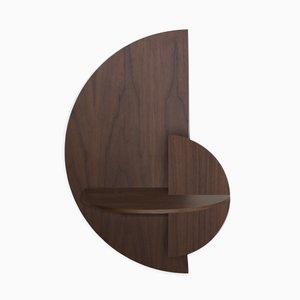 Halbkreisförmiger Alba L Nachttisch von Daniel García Sánchez für Woodendot