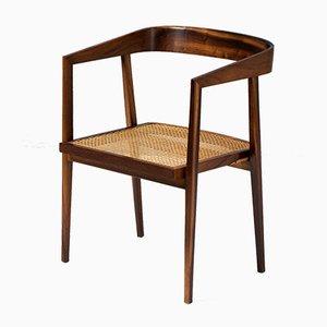 Armlehnstuhl aus Palisander von Joaquim Tenreiro, 1960er