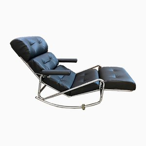 Leatherette Lounge Chair, 1970s