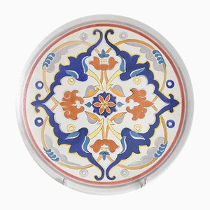 Mid-Century Decorative Plate from Giraud Vallauris, 1950s