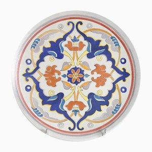 Piatto decorativo Mid-Century di Giraud Vallauris, anni '50