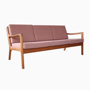 Mid-Century Danish 3-Seater Senator Sofa by Ole Wanscher for France & Søn / France & Daverkosen