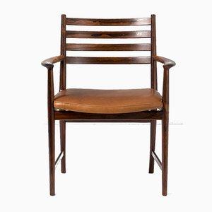 Armlehnstuhl aus Palisander von Kai Lyngfeldt-Larsen für Søren Wiladsen, 1960er