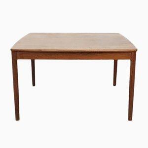 Mesa de centro cuadrada de palisandro, años 60