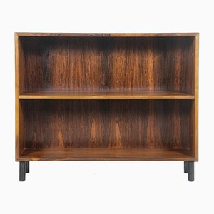 Small Mid-Century Danish Rosewood and Black Metal Shelf, 1960s