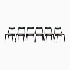 Chaises de Salle à Manger Modèle Boomerang Mid-Century par Alfred Christensen pour Slagelse Mobelvaerk, Danemark, Set de 6