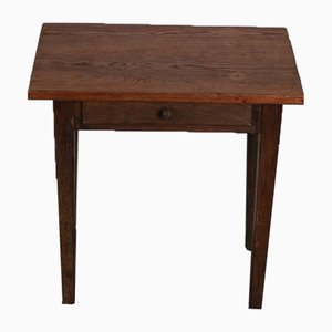 Oak Side Table, 1930s