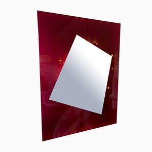 Italienischer Spiegel von Nanda Vigo, 2000er