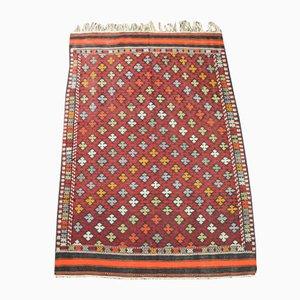 Vintage Turkish Woolen Kilim Rug, 1950s