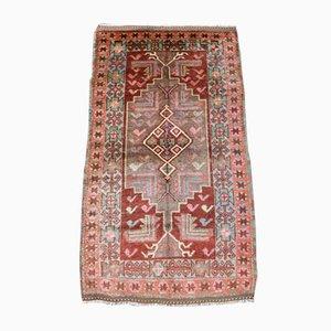 Alfombra Bodrum Kilim turca vintage de lana, años 40