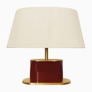 Goldene Vintage Tischlampe, 1970er
