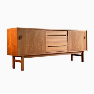 Swedish Teak Sideboard by Nils Jonsson for Troeds Bjärnum, 1970s