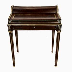 Petit Bureau Style Louis XVI Antique en Acajou