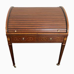 Kleiner Schreibtisch aus Mahagoni, 19. Jh.