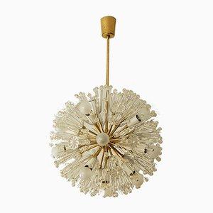 Lampada da soffitto Dandelion Mid-Century di Emil Stejnar per Rupert Nikoll