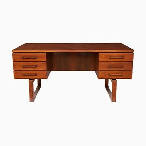Mid-Century Rosewood Desk from Jensen & Valuer, 1960s