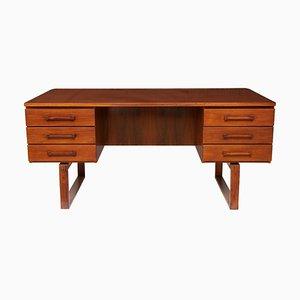 Mid-Century Schreibtisch aus Palisander von Jensen & Valuer, 1960er