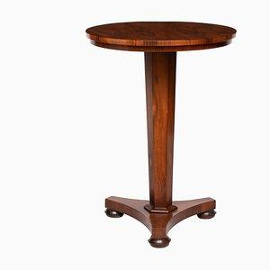 Tavolino vittoriano antico in palissandro, fine XIX secolo