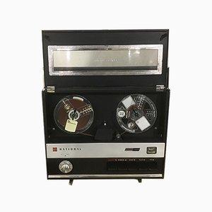 Grabadora y reproductor de cintas modelo RQ-120S japonés de National Panasonic, años 60