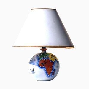 Mid-Century Italian Ceramic Table Lamp by Zaccagnini, 1950s