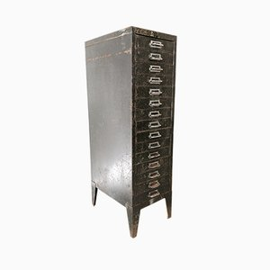 Vintage Metal Filing Cabinet from Bisley, 1940s