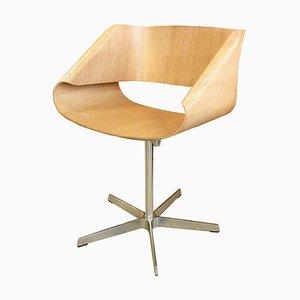 Vintage Plywood Ribbon Rocking Chair by Franca Stagi