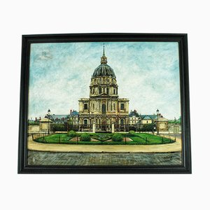 Dome Des Invalides Oil Painting by Pierre Farge, 1920s